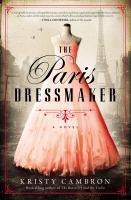 The Paris dressmaker Book cover