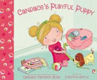Candace's playful puppy Book cover