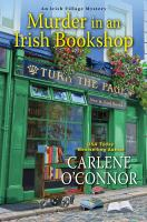Murder in an Irish bookshop Book cover