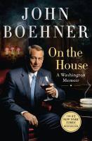 On the house : a Washington memoir Book cover