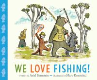 We love fishing! Book cover