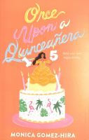 Once upon a quinceañera Book cover