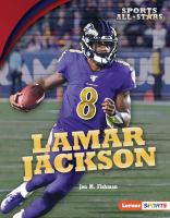 Lamar Jackson Book cover