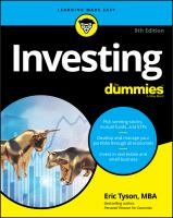 Investing Book cover