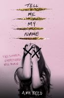 Tell me my name Book cover