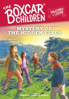 Mystery of the hidden elves Book cover