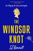 The Windsor knot : a novel  Cover Image