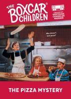 The pizza mystery Book cover