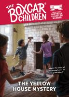 The yellow house mystery Book cover