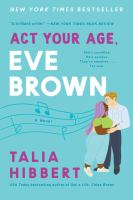 Act your age, Eve Brown Book cover