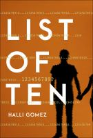 List of ten  Cover Image