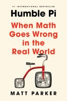 Humble pi : when math goes wrong in the real world Book cover
