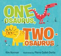 One-osaurus, two-osaurus Book cover