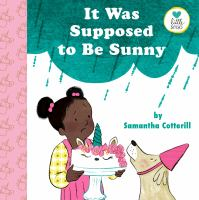 It was supposed to be sunny Book cover