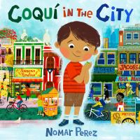 Coquí in the city by Nomar Perez.