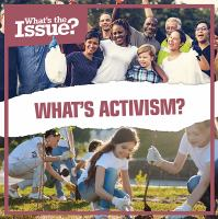 What's activism?  Cover Image