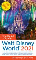 The unofficial guide to Walt Disney World, 2021 Book cover