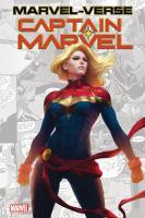 Marvel-verse. Captain Marvel Book cover