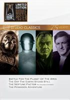 Studio classics : Battle for the planet of the apes ; The day the earth stood still ; The Neptune factor ; The Poseidon adventure Book cover