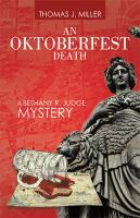 OKTOBERFEST DEATH : a bethany r. judge mystery Book cover