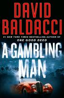 A gambling man Book cover