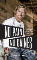 No pain, no Gaines Book cover