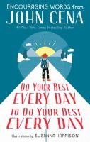 Do your best every day to do your best every day Book cover