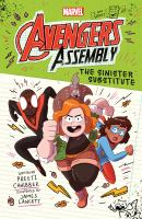 Avengers assembly. The sinister substitute Book cover