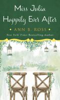Miss Julia happily ever after Book cover