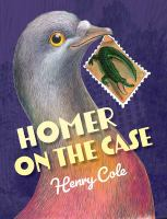 Homer on the case Book cover