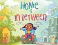 Home is in between Book cover