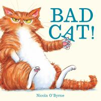 Bad cat! Book cover