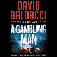 A gambling man  Cover Image
