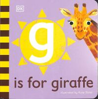 G is for giraffe / illustrated by Kate Slater. Book cover
