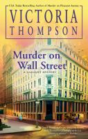 Murder on Wall Street Book cover