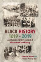 Black history, 1619-2019 : an illustrated and documented African-American history Book cover