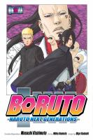 Boruto. Volume 10 Naruto next generations. He's bad news Book cover