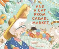 And a cat from Carmel Market Book cover