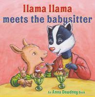 Llama Llama meets the babysitter Book cover