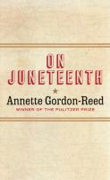 On Juneteenth Book cover
