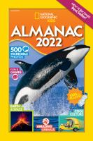 National Geographic kids almanac 2022. Cover Image