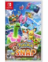 New Pokémon snap Book cover
