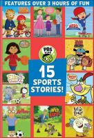 15 Sports stories. Book cover