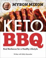Keto BBQ : real barbecue for a healthy lifestyle Book cover