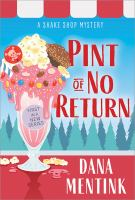 Pint of no return Book cover