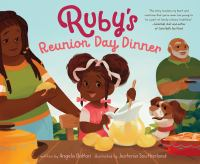 Ruby's reunion day dinner Book cover