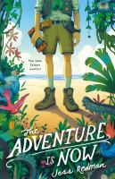The adventure is now Book cover