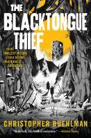 The blacktongue thief Book cover