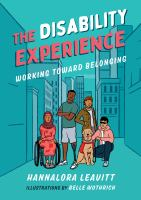 The disability experience : working toward belonging Book cover
