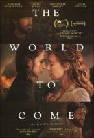 The world to come Book cover